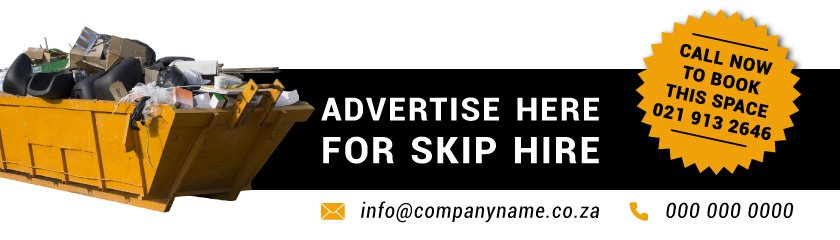 Skip hire advertising